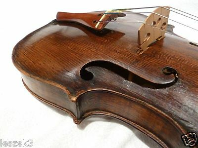 Private COLLECTION to SELL - 27. Old German restored VIOLIN - GEIGE and BOW