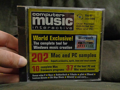 COMPUTER MUSIC INTERACTIVE_Disc 07_used CD rom_ships from AUSTRALIA_C7