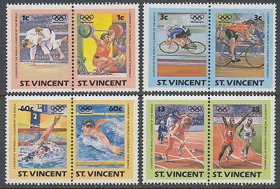 St. Vincent 1984 ** Mi.748/55 Olympische Spiele Olympic Games [sq6468]