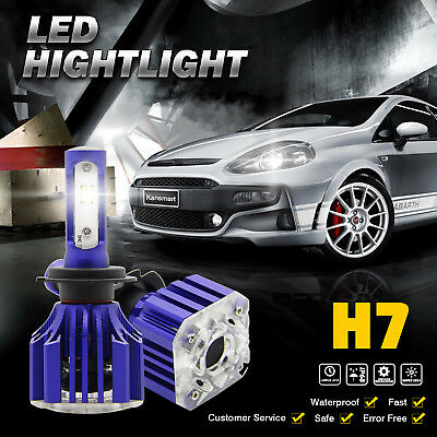 kansmart H7 1080W 162000LM LED Headlight Kit High Low Beam Bulbs CREE 6500K
