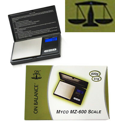 SCALE Measure Auto Balance Weight MYCO Power DIsplay Battery 600gram Accuracy