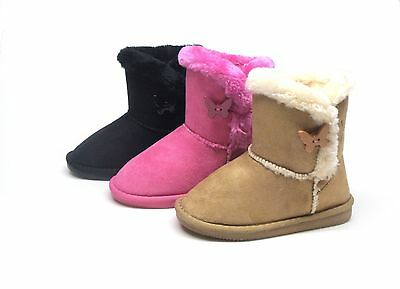 Brand New Girl's Winter Fashion Boots Size 10 - 4