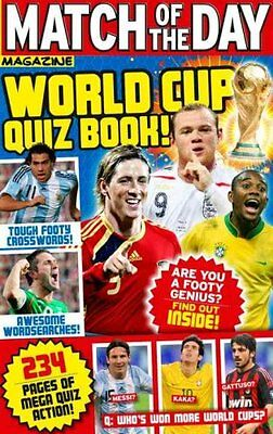 Match of the Day  World Cup Quiz Book by Ebury Publishing (Paperback, 2010)