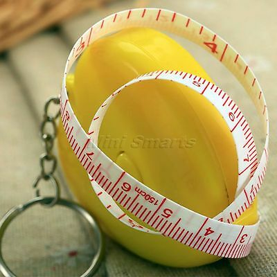 150cm Mini Retractable Tape Dieting Body Measuring Ruler Tailor Sewing Tapeline