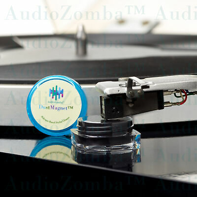 Audiozomba Research Dustmagnet™ Polymer Stylus Cleaner Cleaning Vinyl  Gel Free
