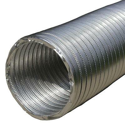 Flexible Aluminum Ducting Hose Round Ventilation Tube Flexi Duct Pipe Flexipipe