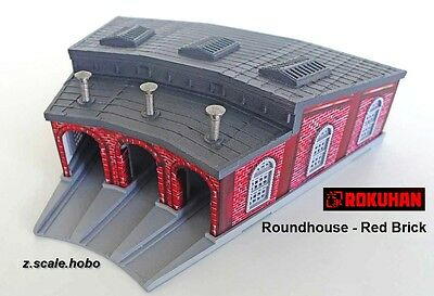 Rokuhan s038 Z Scale Roundhouse Train Building Locomotive Facility *NEW $0 SHIP