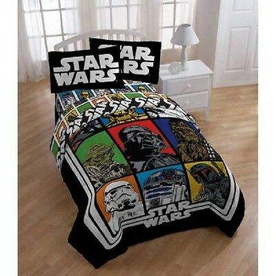 Star Wars Comforter Twin Full Kids Disney Bedroom Comforters Bedding Boys