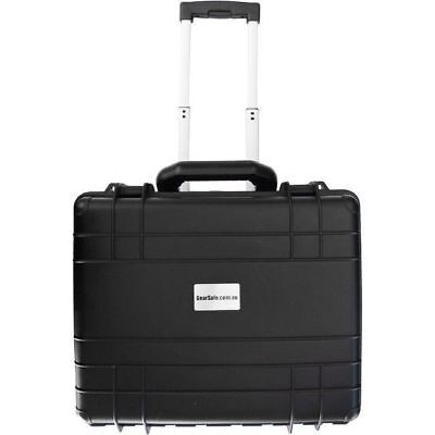 Gearsafe IPX7 Rated Protective Trolley Case with Foam GS023 Size 475x390x200mm