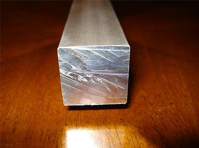 ALUMINIUM SQUARE BAR -  20mm x 20mm  x 200mm LONG NEW Gr.2007