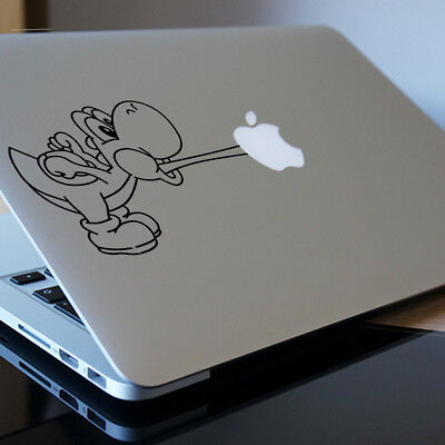 """YOSHI Apple MacBook Decal Sticker fits 11"""" 12"""" 13"""" 15"""" and 17"""" model"""