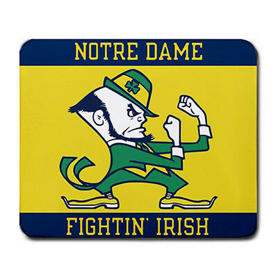 New Notre Dame Fighting Irish Large Mousepad Mouse Pad free shipping