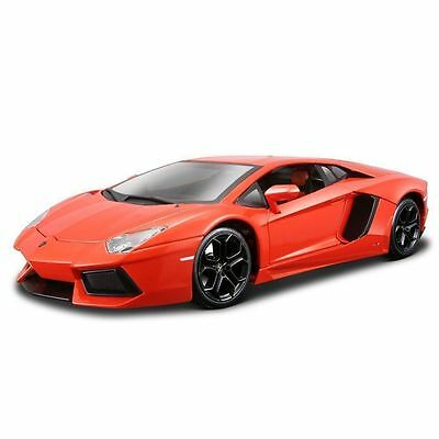 Diecast 1:18 Lamborghini AVENTADOR LP700-4 Maisto Cars Toys Kids Red Sports
