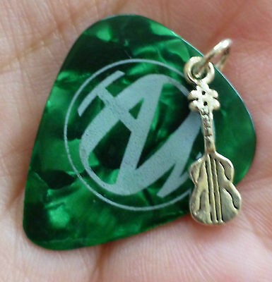 Hanson Green Isaac Sterling Pendant Guitar Pick Sterling Silver