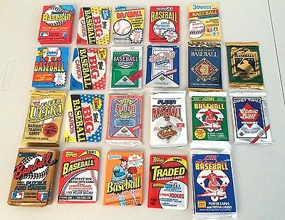 Lot of Baseball Wax & Foil Packs -- UNOPENED!!