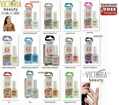 Victoria Beauty Hardener Calcium Gel 100%protection, Beauty Nail Care