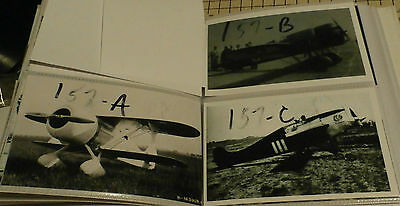 Lot of 3 - 4x6 B & W Vintage Air Show Photographs #157 - SUPER SOLUTION, Mystery
