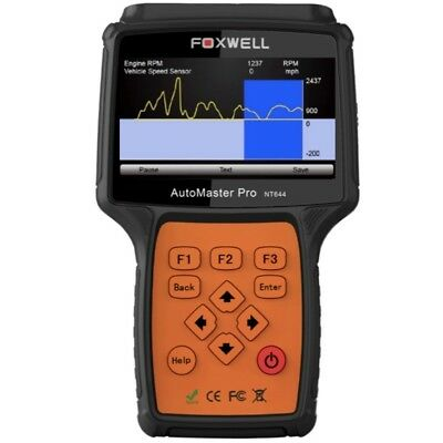 FOXWELL NT644 Automaster Pro OBD2 OBD1 Diagnostic Reset Scan Tool For All System