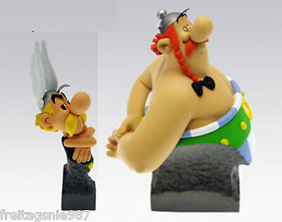 ASTERIX OBELIX  set of 2 resin-busts ltd ed by Attakus