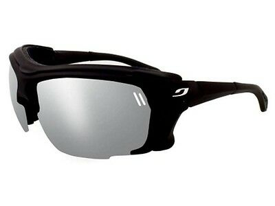 Julbo Outdoor Trek Sunglasses (Spectron 4 Grey Lens Black / Black Frame)