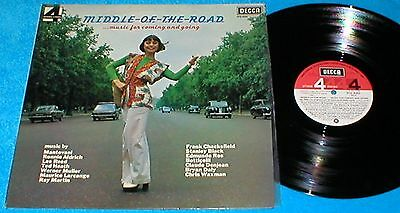 MIDDLE OF THE ROAD SPAIN LP 1975 MUSIC FOR COMING AND GOING DECCA PFS 4282 Mira