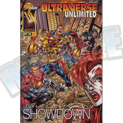 Ultraverse Unlimited #2 Vf-Nm