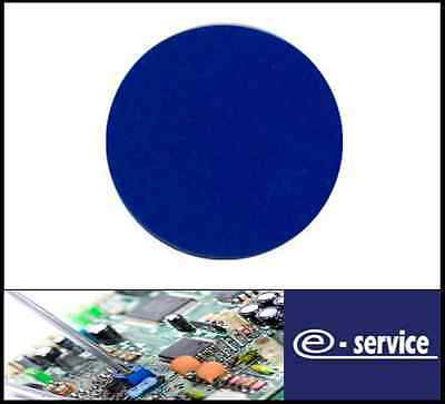 Plain Plastic Tokens - 38mm Blue - Great for events or voting boxes, 10, 50+