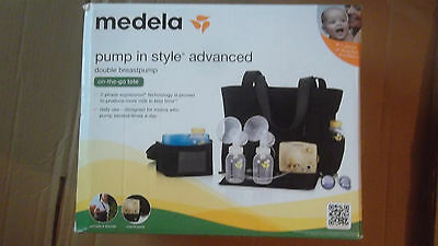 Medela 57063 Pump In Style Advanced Breast Pump On-the-GoTote NEW -OPENED BOX.,