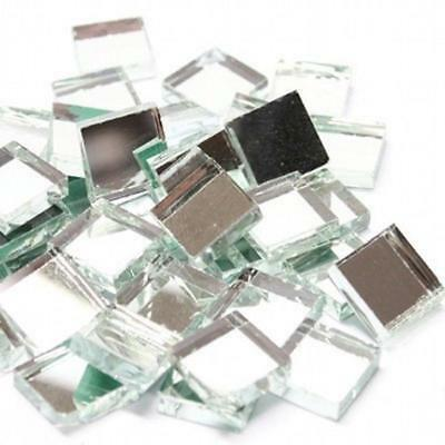 10x10mm Mirror Glass Mosaic Tiles 3mm thick - 100 Tiles