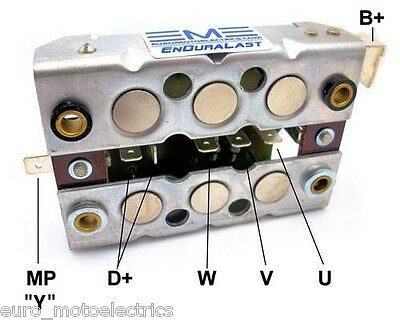 BMW R Airhead Diode Board / Rectifier - Replaces  Bosch / BMW # 12 31 1 244 063