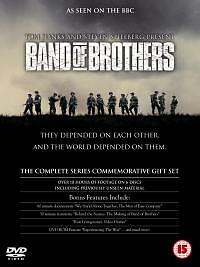 BAND OF BROTHERS COMPLETE TV SERIES DVD BOX SET Brand New UK Rel. Original R2 x
