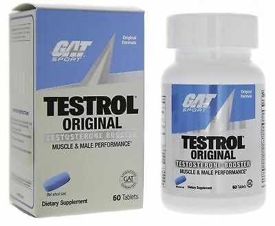 GAT TESTROL Original Testosterone Booster 60 Tablets