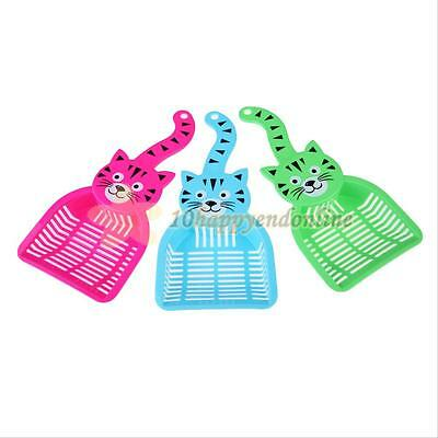 Plastic Cat Dog Pet Poop Sieve Litter Scoop Animals Wastes Cleaning Tool NEW