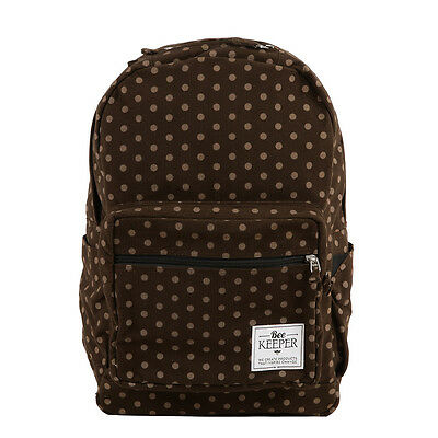 Royal Chocolate Backpack - BeeKeeper Fair Trade Eco Friendly