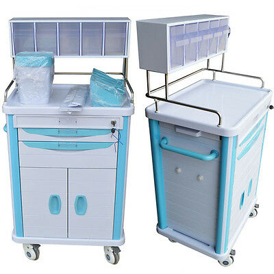 1PC New Patients Care Cart drawers Key lock Tools Stands Professional