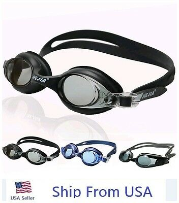 UV Protection Anti Fog Adult Swimming  Goggle Glasses Adjustable Competition#o