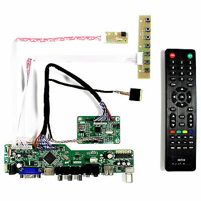 11.6Inch TV HDMI CVBS RF USB LCD Controllers for N116HSE 1920x1080 IPS LCD panel