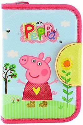 NEW Peppa Pig Single Tier Filled Pencil Case