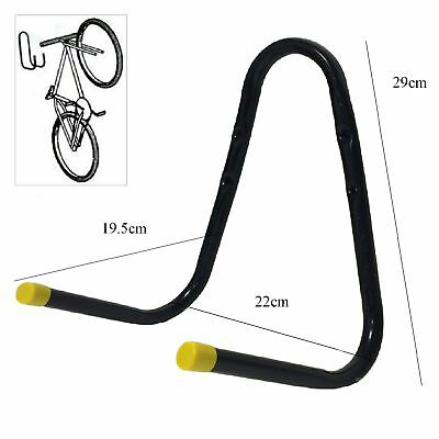 Large Double Bike Storage Hook Wall Mounted Bracket Ladder Bicycle Garage shed