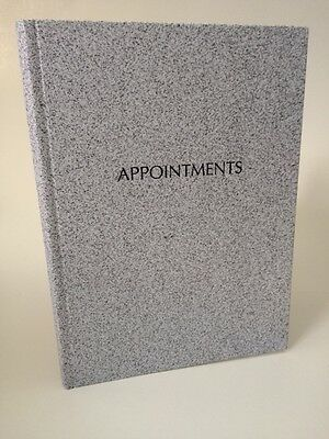 Quirepale 6 Column Appointment Book - Grey - Hairdressers, Salons, Nail Techs...