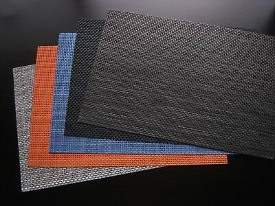 Set of 6 Table Placemats-- 6 Colours Can Be Chosen From