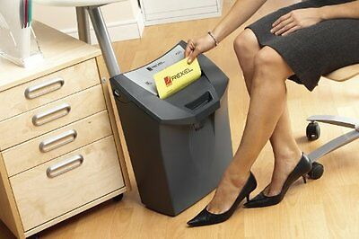 Rexel OfficeMaster CC175 Paper Shredder Cross Cut with Additional Bag Fastener