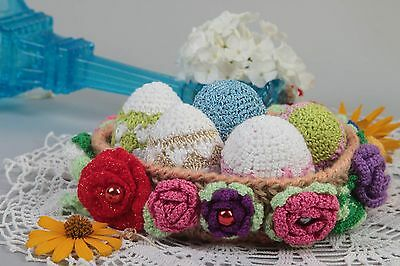 Handmade Cute Easter Eggs Decoration For Easter Home Decor Ideas Unusual Gift