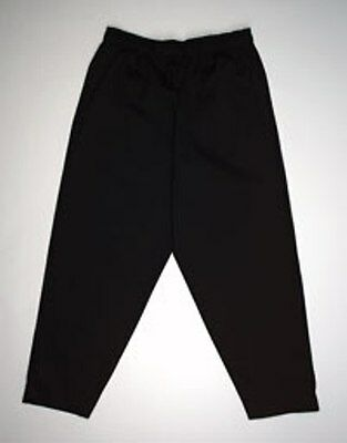 Chef Baggies / Pants / Black /  Sizes Small - 5XL Unisex Fit /  QUICK SHIP!
