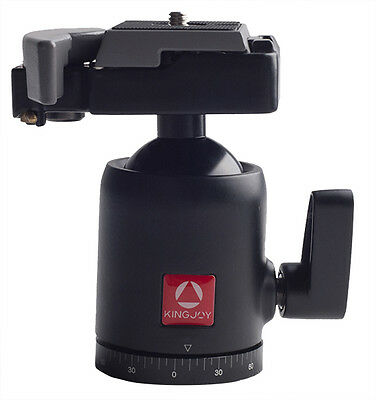 Phot-R QB-10 Tripod Ball Head with Quick Release Plate 494RC2 496RC2 DSLR
