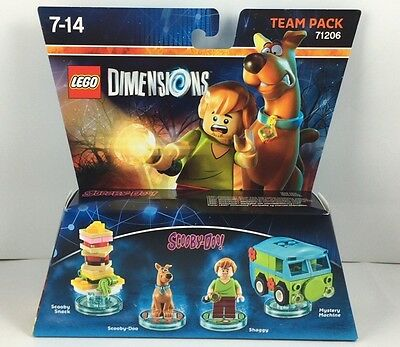 Lego Dimensions 71206 Team Pack Scooby Doo Neu & OVP sofort lieferbar