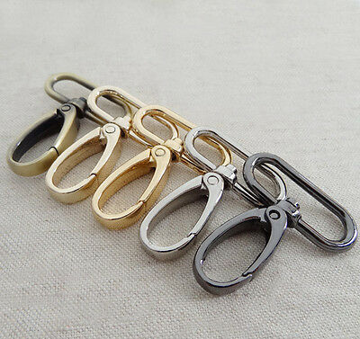 Bag Clasps Swivel Trigger Clips for 30mm strapping Lobster 5 Colour
