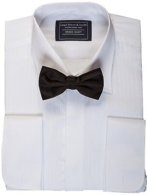 Mens Evening Dinner Dress Tux Tuxedo Shirt & Bow Tie Bowtie 14 15 16 17 18 19 20