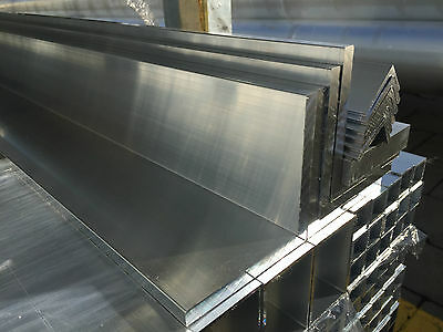 Aluminium Extruded Angle L Section  2m 12mm x 12mm x 2mm, 20mm x 20mm x 2mm