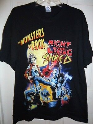 Ozzy Osbourne The Monsters of Rock Night Living Shred, (7-26-08)  T- Shirt. New